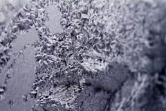 Ice on the glass Stock Photos