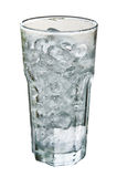 Ice in the glass. Stock Images