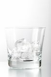 Ice in glass Stock Photos