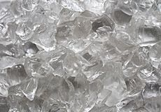 Ice and glass texture royalty free stock photo