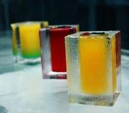Ice glasses Stock Photo