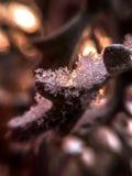 Ice glow Stock Image