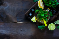 Ice green tea Royalty Free Stock Photography