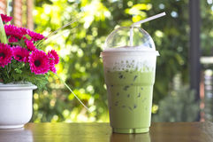 Ice Green tea Royalty Free Stock Image