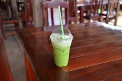 Ice Green tea Stock Photos
