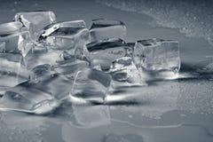 Ice grey background Royalty Free Stock Image