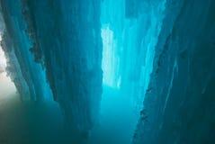Ice grotto Stock Photo