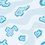 Ice ground pattern Royalty Free Stock Photography