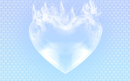 Ice heart Royalty Free Stock Images