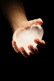 Ice heart Stock Images