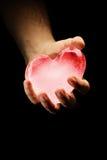 Ice heart Royalty Free Stock Photography