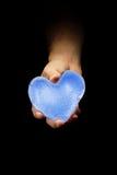 Ice heart Royalty Free Stock Image