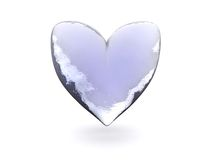 Ice heart Royalty Free Stock Photos