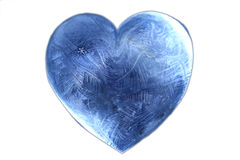 Ice heart valentine Royalty Free Stock Photos
