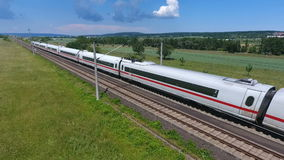 ICE highspeed train stock video