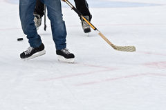 Ice hockey Stock Image