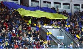 Ice Hockey 2017 World Championship Div 1 in Kiev, Ukraine Stock Image