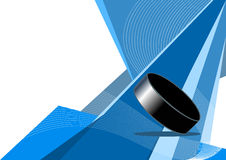 Ice hockey, abstract design Royalty Free Stock Image
