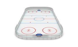 Ice hockey area Stock Photography