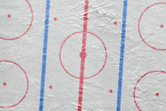 The ice hockey arena. The layout of the ice hockey arena. Concept, hockey, background Stock Photography