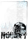 Ice hockey background 2 Royalty Free Stock Images