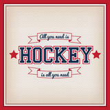 Ice Hockey Badge Stock Photos