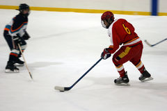Ice Hockey Blur #2 Stock Photo