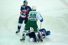Ice hockey competitions Stock Photos