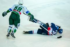 Ice hockey competitions Royalty Free Stock Photography
