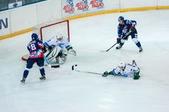 Ice hockey competitions Royalty Free Stock Images
