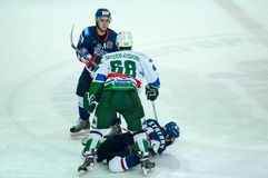 Ice hockey competitions Stock Image