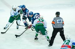 Ice hockey competitions Royalty Free Stock Photos