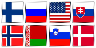 Ice Hockey 2015 Czech republic. Group B Ostrava Stock Images