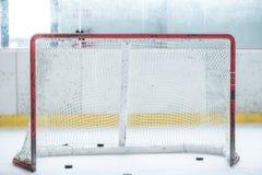 Ice Hockey Empty Net Stock Photos