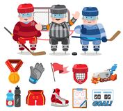 Ice hockey stock illustration