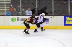Ice hockey game Stock Image