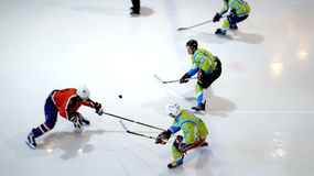 Ice hockey game Royalty Free Stock Photography