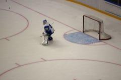 Ice Hockey Game Royalty Free Stock Photo