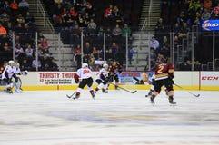 Ice hockey game Stock Photos