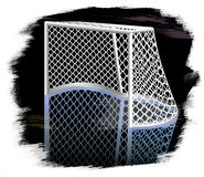 Ice hockey goal. Stock Images