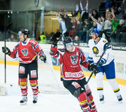 Ice hockey goal Royalty Free Stock Photography