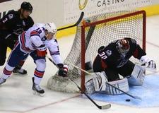 Ice hockey Goalie Royalty Free Stock Images