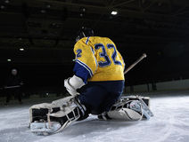 Ice hockey goalkeeper Royalty Free Stock Image