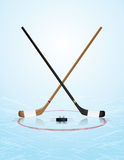 Ice Hockey Illustration Stock Image