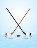 Ice Hockey Illustration Stock Image