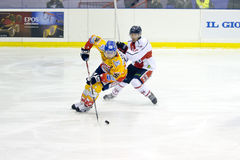 Ice Hockey Italian Premier League Royalty Free Stock Photography