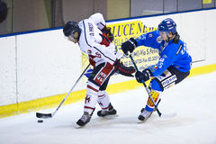 Ice Hockey Italian Premier League Stock Images