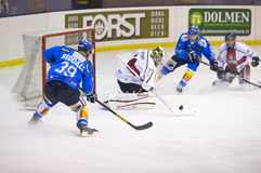 Ice Hockey Italian Premier League Royalty Free Stock Photo