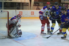 Ice hockey- Kobra Praha - HC Benesov Stock Photos