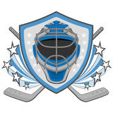 Ice hockey labels, badges Stock Images